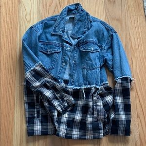 Women's Oversized Denim Jacket by Misguided